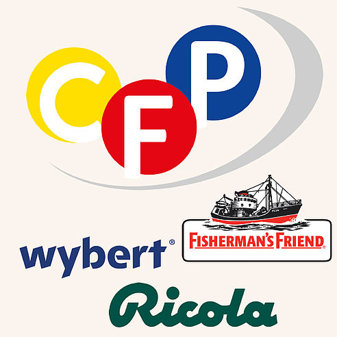 CFP Brands Ricola Wybert Fisherman´s Friend